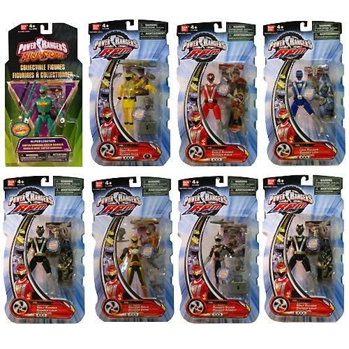 12cm Power Rangers RPM Figures - £1.99 Instore @ Home Bargains
