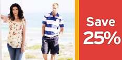 25% off All TU Clothing & Accessories @ Sainsburys
