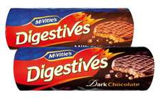 McVitie's Digestives milk or dark 89p each @ Lidl