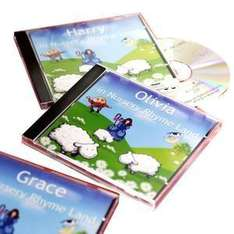 Personalised Story CD with Your Childs Name - was £12.99 now £2.60 @ WH Smith
