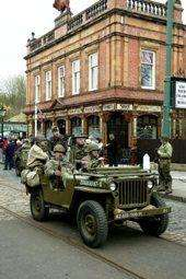 Free Entry to Armed Forces Personnel & Their Partners at Crich Tramway Village 1940s Weekend This Easter 24th & 25th April