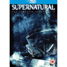 Supernatural: Seasons 1-5 Box Set (Blu-ray) (19 Disc) - £69.97 Delivered @ Amazon