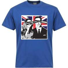 Never Mind The Royal Wedding T-Shirts - was £13 now £5 @ Zavvi