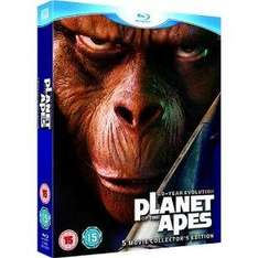The Planet of The Apes: 5 Movie Set (Blu-ray) - £25.99 @ Bee