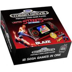 Sega Megadrive Handheld with 18 Built-in Games: Streets of Rage: Special Edition - £14.98 @ Amazon
