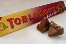 Toblerone Fruit and Nut (400g) 75p at Sainsburys