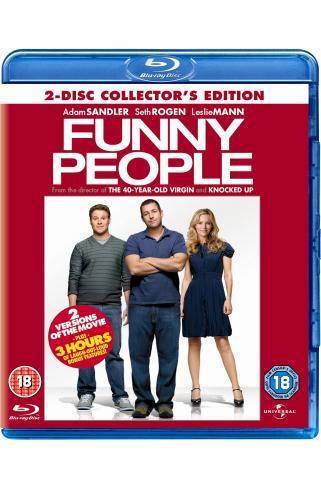 Funny People (Blu-ray) - £4.99 Online or Instore @ Grainger Games