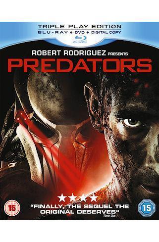 Predators: Triple Play Edition (2 Disc) (Blu-ray) - £8.49 (with code) @ Tesco Entertainment + 8% Quidco