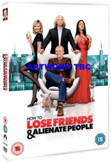 How To Lose Friends & Alienate People (DVD) - £1.99 @ Choices UK