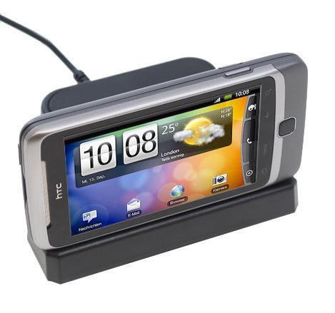 Desire Z USB Desktop Charge & Sync Cradle / Docking Station - Black - For HTC Desire Z - £7.99 @ 7 Day Shop