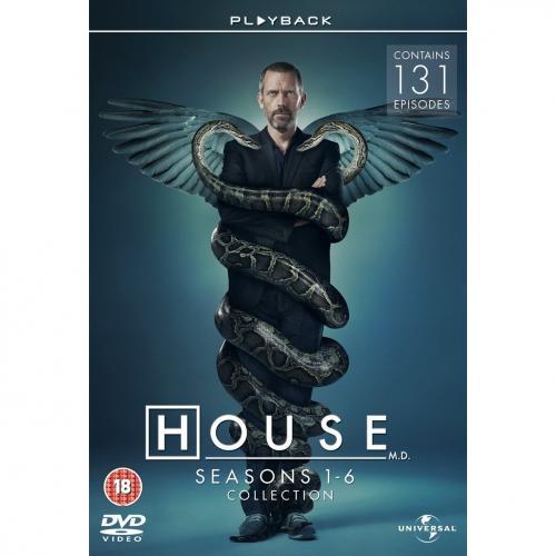 House: Seasons 1-6 (DVD) - Now £54.97 @ Amazon