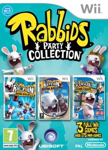 Rayman Raving Rabbids - Triple Pack (Wii) - £9.85 @ Zavvi