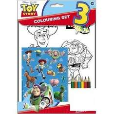 Toy Story 3 Colouring and Sticker Set - £1.55 Delivered @ Amazon