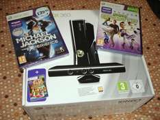 Xbox 360 Console: 250GB + Kinect + Kinect Michael Jackson + Kinect Sports + Kinect Adventures - £249.99 @ Game & Gamestation