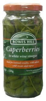 TESCO - Caperberries in vineger - 1p