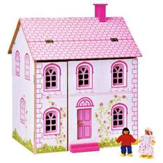 Little Steps Wooden Doll's House - was £40 now £20 @ Tesco Direct