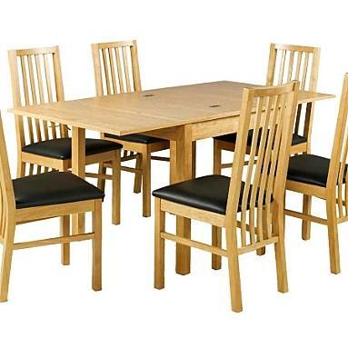 Flip Foldable Dining Table - was £339 now £152.10 @ Debenhams
