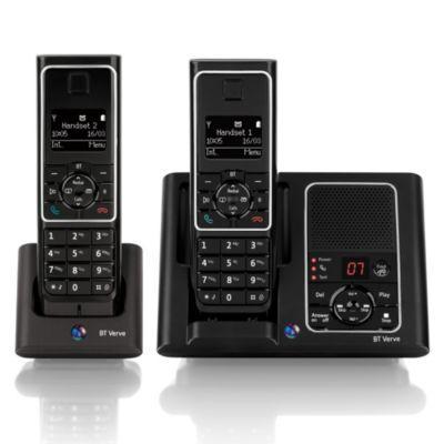BT Black Verve 450 Twin Phones - was £100 now £45 (with code) @ Debenhams