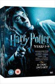 Harry Potter: Years 1-6 Box Set (DVD) - £14 @ Tesco Entertainment