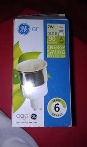 GU10 7w energy saver bulb  £1.25 @ Tesco