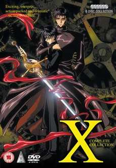 X: Complete Collection: TV Series (DVD) - £9.99 @ Anime-On-Line