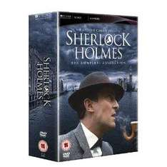 Sherlock Holmes: The Complete Collection (DVD) - £22.97 Delivered @ Amazon