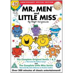Mr Men And Little Miss: Complete Original Series 1 & 2 (35th Anniversary Collection) (DVD) (2 Disc) - £5.83 @ Amazon