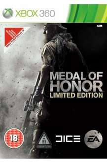 Medal of Honor (Xbox 360) (PS3) (Pre-owned) - £9.99 @ Grainger Games