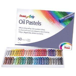 Pentel Oil Pastels - Set 50 £5.46 delivered @Amazon
