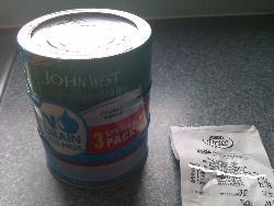 John west tuna 3 pack 50p at asda langley mill
