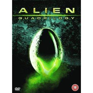 Alien Quadrilogy (DVD) (9 Disc) - £10.85 @ The Hut & Zavvi