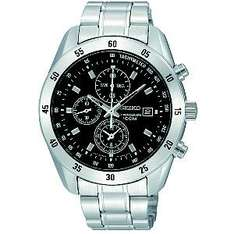 Seiko Exclusive Men's Stainless Steel Bracelet Chronograph - £99 Delivered @ H Samuel