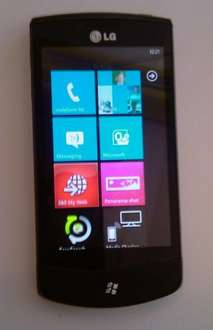 LG Optimus Windows 7 Phone With 2 Years Service - £339.99 +, a possible £80 Quidco back  @ Orange