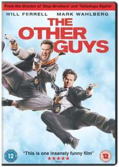 The Other Guys (DVD) - £5.09 (with code) @ Tesco Entertainment (+ 8% Quidco)