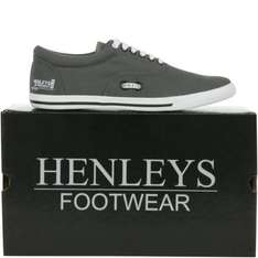 Men's Henleys Panacea Shoes (Grey) - £14.99 Delivered @ eBay Henleys Outlet