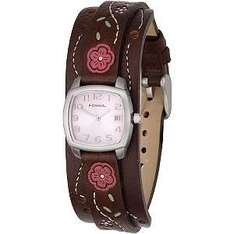 Fossil Ladies' Pink Dial Cuff Watch £32.50 @ H Samuel