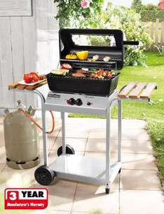 Two burner gas BBQ at Lidl from Thursday. £59.99