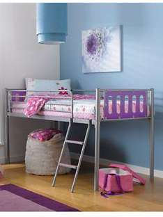 Kidspace Cyber Mid-sleeper Kids Bed Frame (with mattress offer!) £69.99 @ very + quidco