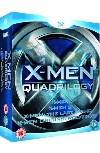 X-Men Quadrilogy: X-Men / X2 / X-Men: The Last Stand / X-Men: Origins - Wolverine (Blu-ray) - £16.85 Delivered @ Zavvi