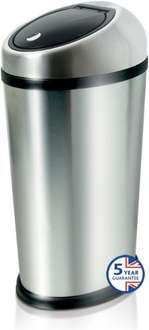 Addis 50L Stainless Steel Touch Top Bin £30 @ Wilkinson - Not Brabantia...but not Brabantia price either