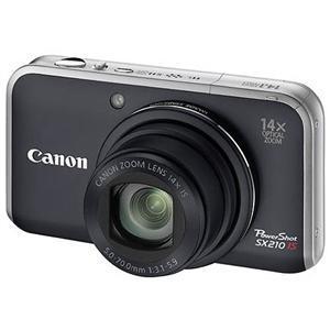 Canon Powershot SX210 IS Digital Camera in Black - £179 @ Jessops