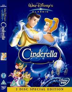 Disneys Cinderella: Special Edition (DVD) (2 Disc) - £14.04 Delivered @ Amazon Sold By Gowings Store Ltd