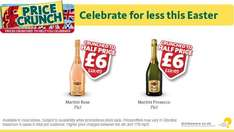 martini sparkling rose/prosecco £6.00@ morrisons  less than half price
