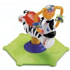 Fisher Price Baby Gymtastics Bounce & Spin Zebra - £30.99 Delivered @ Amazon