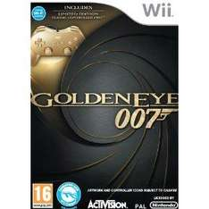 Golden Eye Collectors Edition inc Gold Classic Wii Controller - £27.95 + £2.03 Postage @ Amazon Sold By The Game Collection