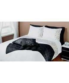Seattle Double Duvet Set 11.98 delivered @ Ebay Argos Outlet, many other sizes/styles too on the left hand side of page