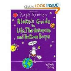 Purple Ronnie's Bloke's Guide to Life, the Universe and Bottom Burps (Book) - £1 @ Poundland