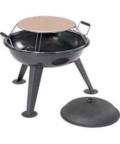 Jamie Oliver Charcoal Firepit with Pizza Stone -  Was £99.99 now £49.99 @ Argos