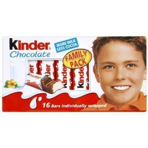 Kinder Chocolate Mini Treats 16 Pieces 200g@poundworld