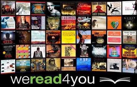 Free Audio Books @ We Read 4 You